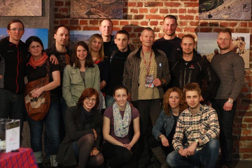 Członkowie KWB z Ryszardem Pawłowskim