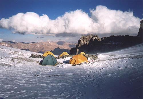 Aconcagua - obóz II