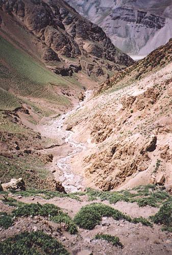 Aconcagua - droga do bazy