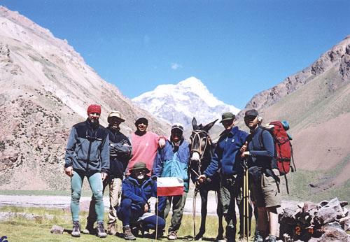 Aconcagua - uczestnicy wyprawy