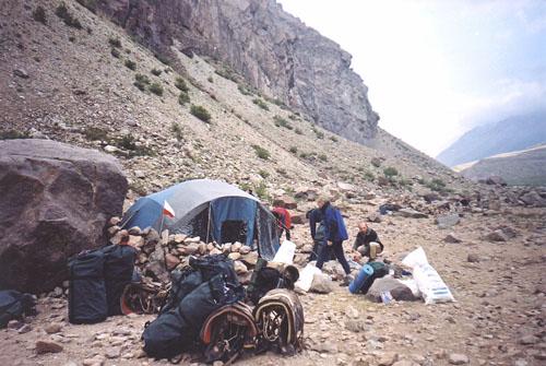 Aconcagua - obóz Pampa de Lenas