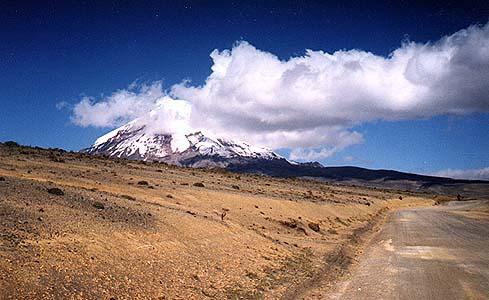 Widok na Chimborazo