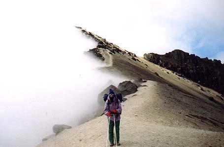 Na krawędzi krateru Guagua Pichincha