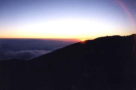 Zachód słońca pod Chimborazo
